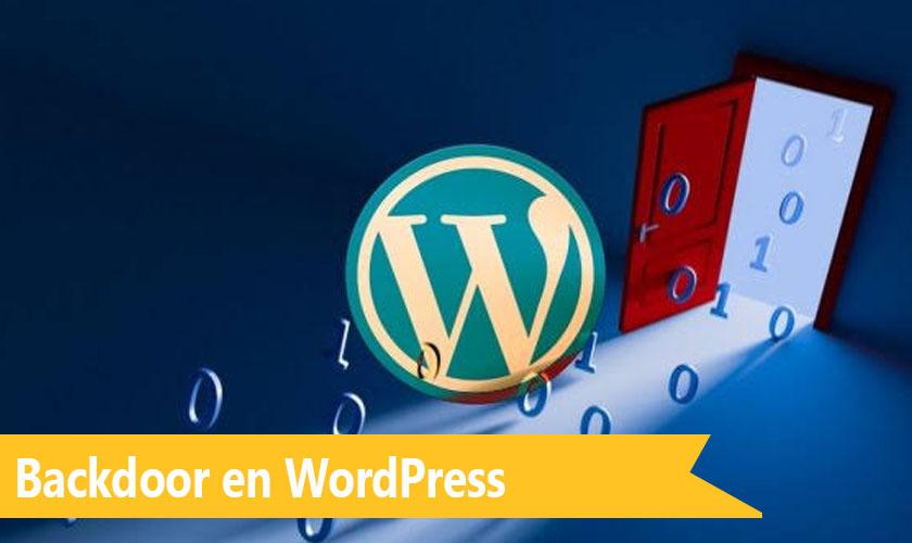 Backdoor en WordPress