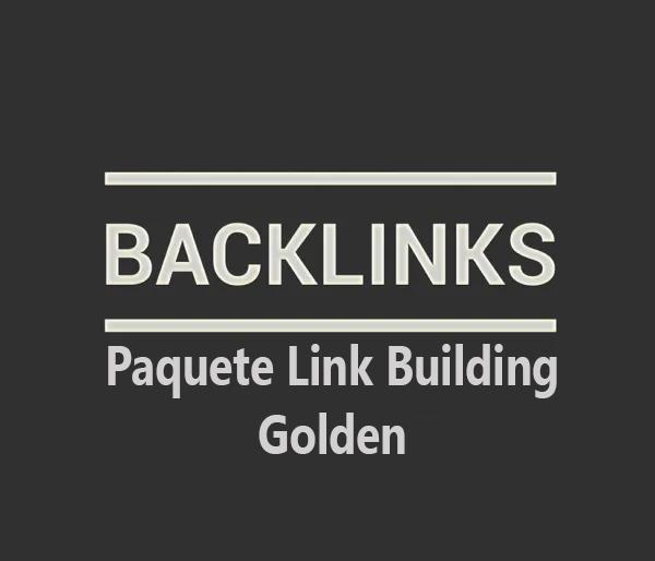 Paquete link building Golden