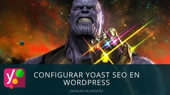 Configurar Yoast SEO en WordPress