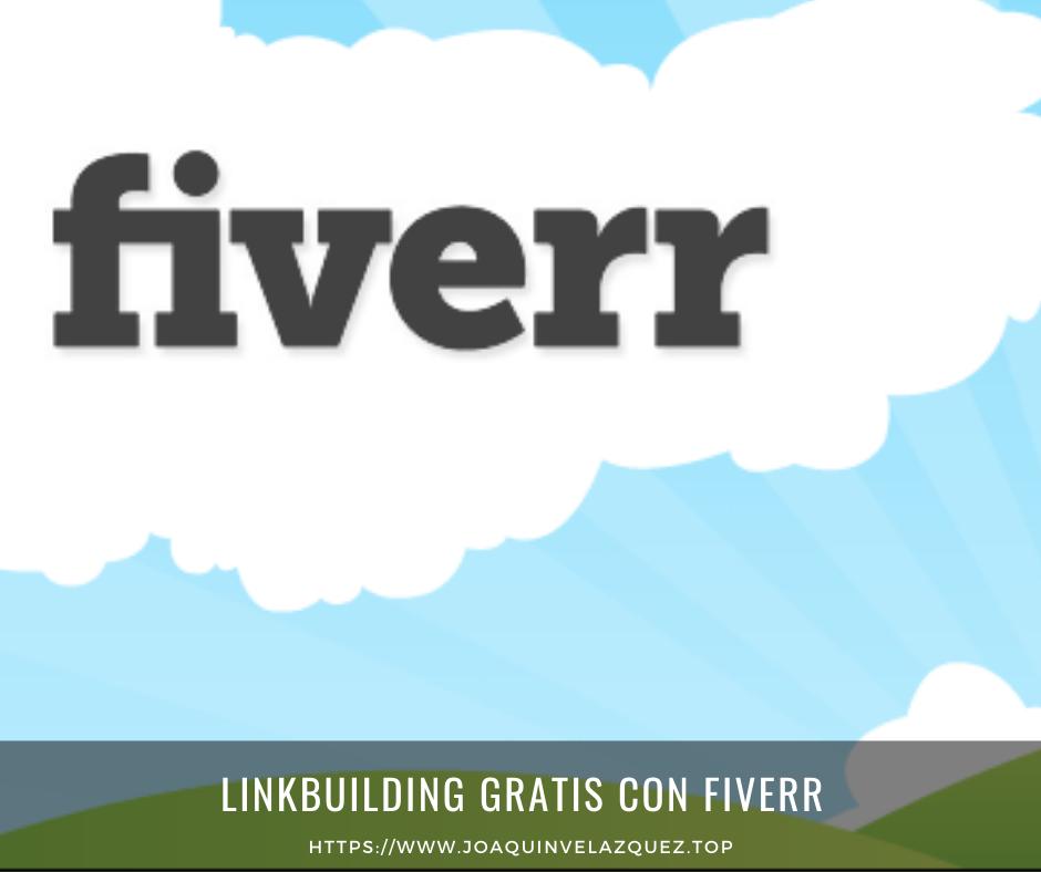 Linkbuilding GRATIS con Fiverr