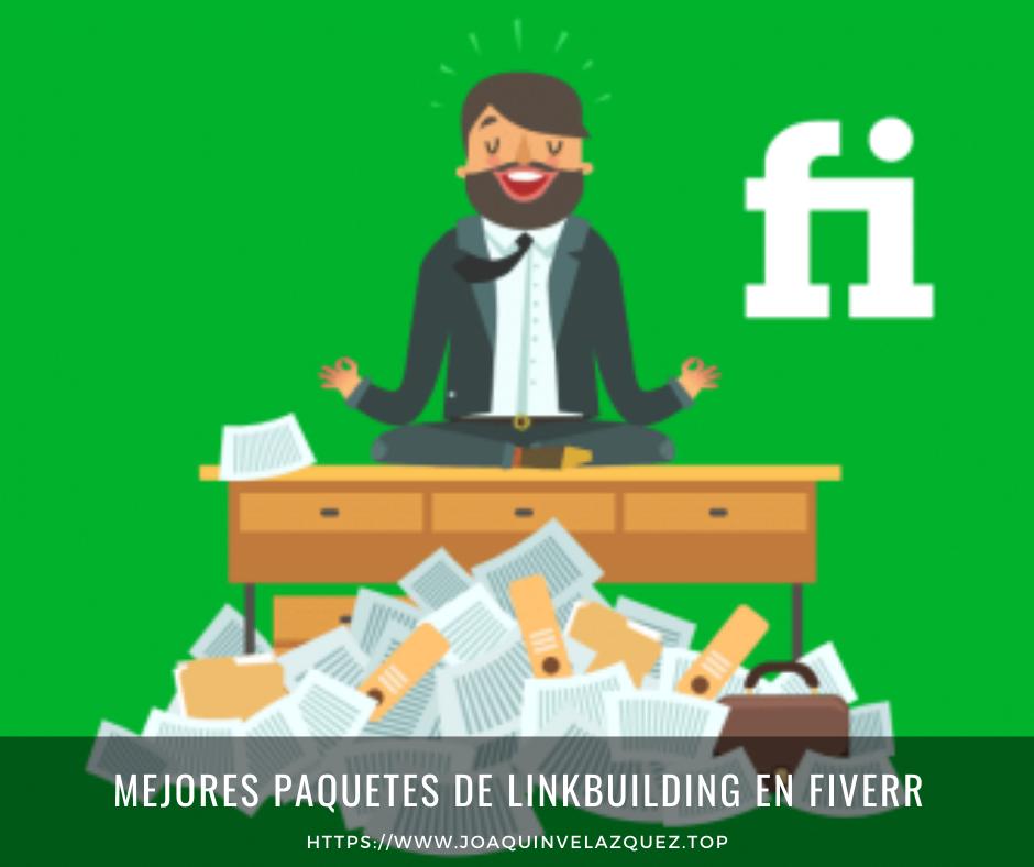Mejores paquetes de linkbuilding en Fiverr